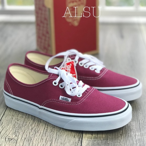 02fb33a120 NWT VANS AUTHENTIC Dry Rose🌹True White W AUTHENT